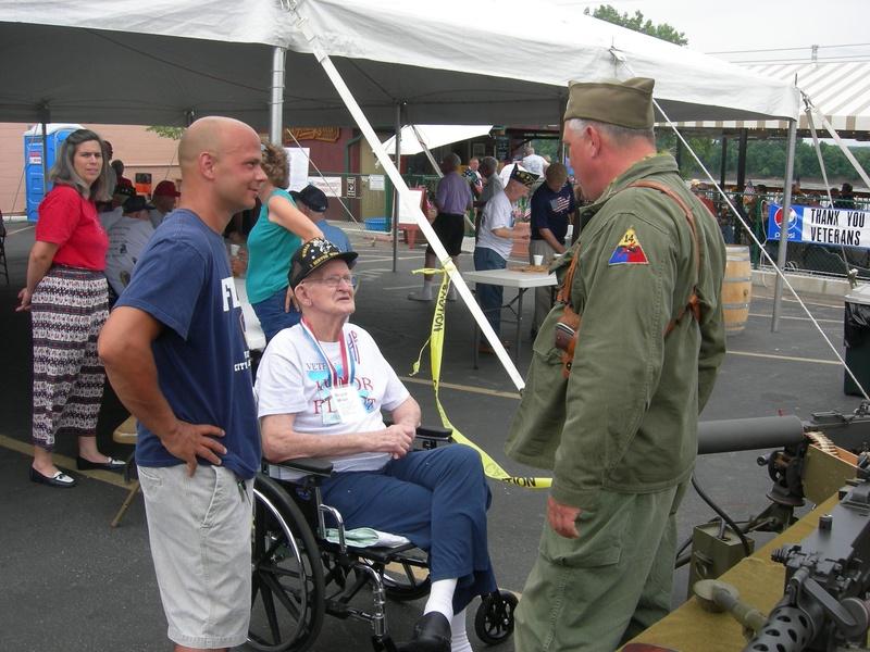 Honor Flight, Washington, MO, July 2009
