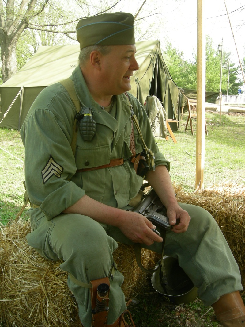 WW II Weekend, Jefferson Barracks, St. Louis, MO, 2009