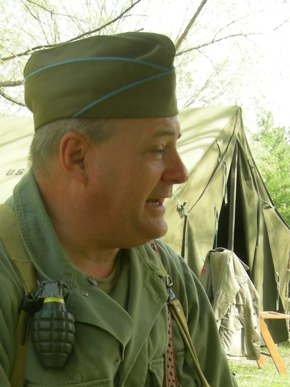 WW II Weekend, Jefferson Barracks, St. Louis, MO, 2009